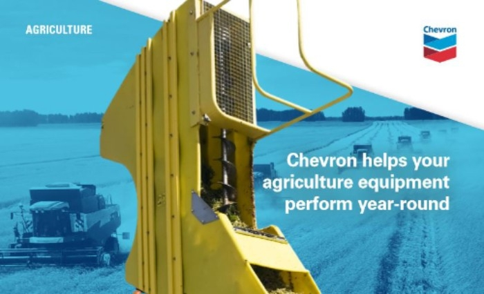 Chevron lubricants are formulated to help your ag equipment perform year-round, from planting season to peak harvest