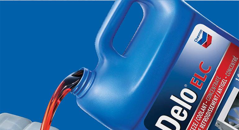 Delo ELC Heavy Duty Antifreeze/Coolant | Chevron Lubricants (US)