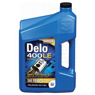 Delo 400 LE SAE 15W-40 Heavy Duty Motor Oil | Chevron