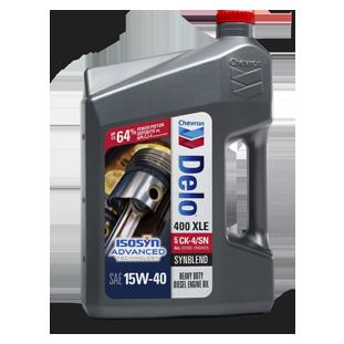 Delo 400 XLE SAE 15W-40 Synthetic Blend Diesel Engine Oil | Chevron