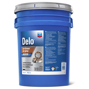 Delo Synthetic Grease SFE EP 0 - Semi Fluid Grease | Chevron