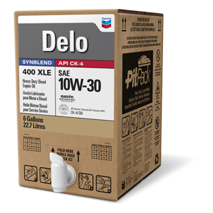 Delo 400 XLE SAE 10W-30 Synthetic Blend Diesel Engine Oil