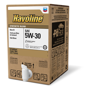 What Is Dexos Oil >> Havoline Synthetic Blend Motor Oil | Chevron Lubricants (US)