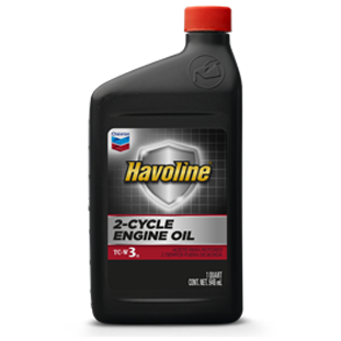 Havoline 2-Cycle Engine Oil for Motorcycles & Small Engines