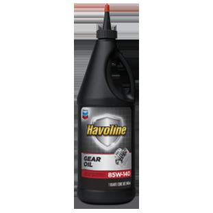 Havoline Gear Oil 85W-140 | Chevron Lubricants (US)