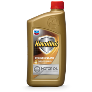 Havoline Synthetic Blend Motor Oil | Chevron Lubricants (US)