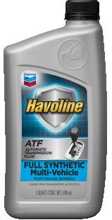 Havoline Full Synthetic Multi-Vehicle ATF | Chevron