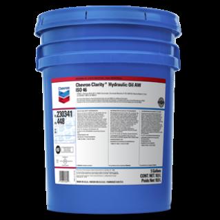 chevron aw iso 32 hydraulic oil