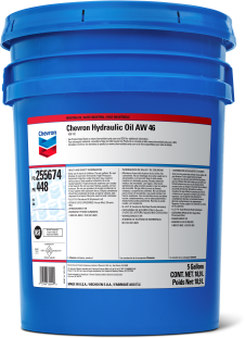 Chevron Hydraulic Oil AW | Chevron Lubricants (US)
