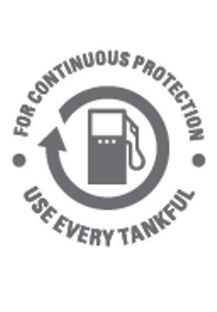 For continuous protection of your boat, use every tankful