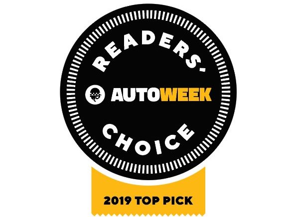 Autoweek award badge
